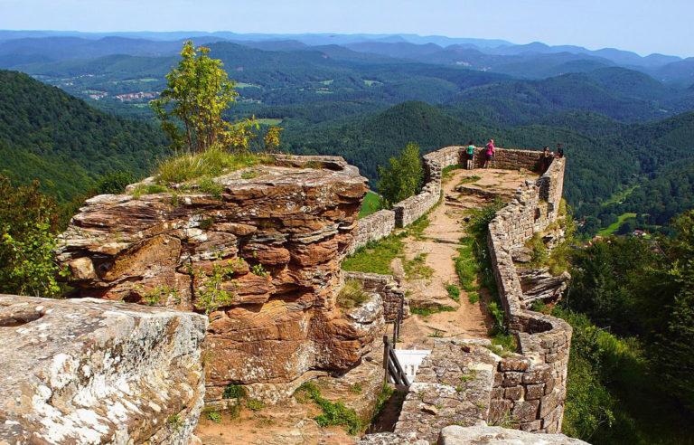 Blick von der Wegelnburg