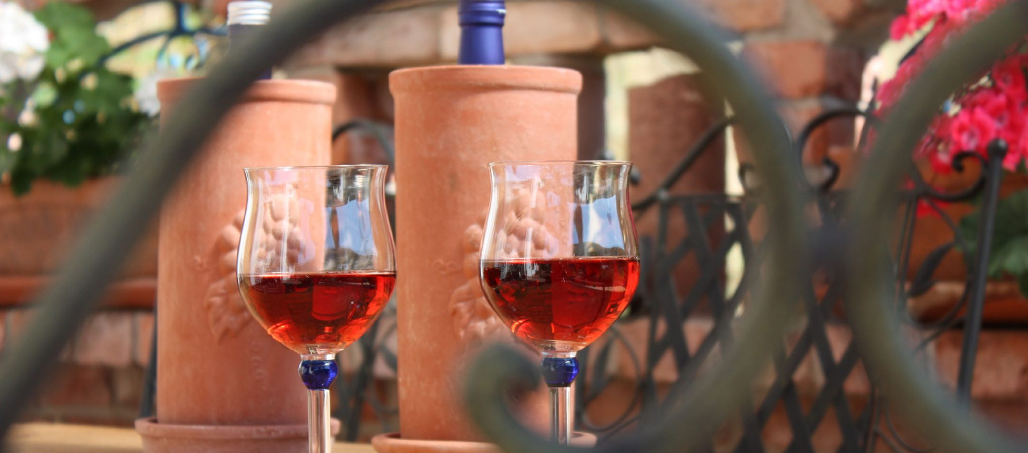 Weinkühler aus Ton